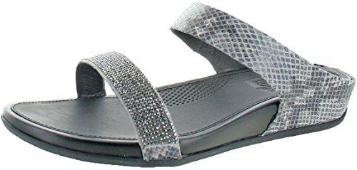 c7a102020d656 FitFlop trade  Banda™ Crystal Slide Sandal Mink Size 7 - Import It All