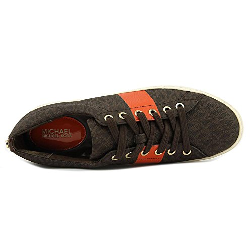 Michael Kors Donna Keaton Stringate Basse Sneakers Stringate Marrone / Mimosa