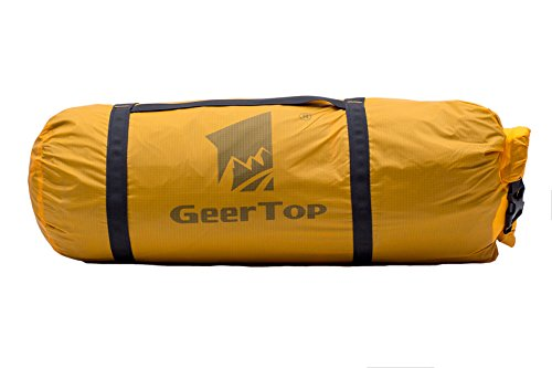 It is designed to be a replacement duffel bag for Geertop tents or any other 1 person tents and 2 to 3 person tents. It is a made from 20D 360T PU8000MM ...  sc 1 st  eBay & GEERTOP Ultralight 20D Waterproof Adjustable Tent Compression Bag ...