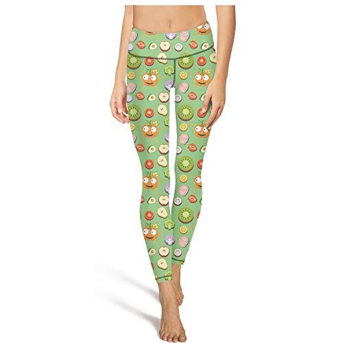 PDAQS Pumpkin Princess Vegetable Fruit Yoga Pants Leggings Outfit Legging -