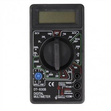 Pakhuis DT830B AC / DC multimtre numrique pour ampremtre voltmtre Rsistance
