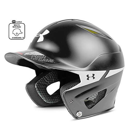 Under Armour Baseball Under Armour Converge Batter's Helmet - Two Tone Black, Youth