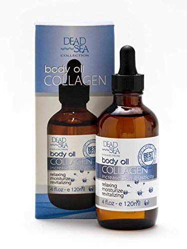 Body Oil Collagen, Dead Sea Collection | To Increase Skin Elasticity & Provide Anti-Aging Support for Face and Body
