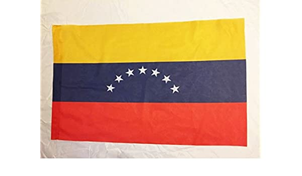 Rakmark 2 Banderas de Venezuela Antigua 7 Estrellas 70x40: Amazon ...