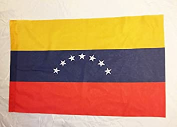 Rakmark 2 Banderas de Venezuela antigua 7 estrellas 70x40: Amazon.es: Jardín