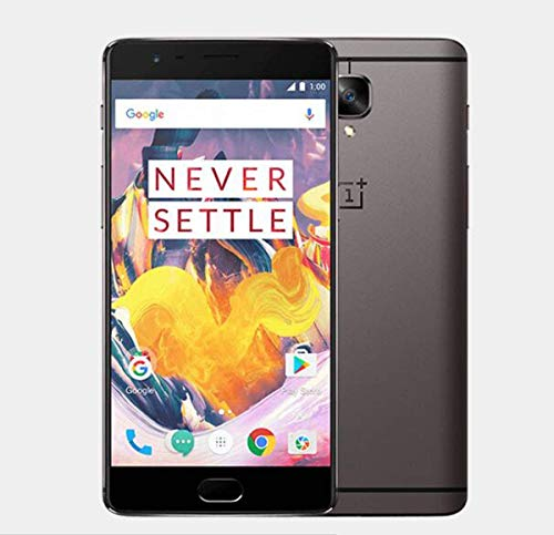 OnePlus 3T 64GB A3003 Dual-SIM Factory Unlocked (Gunmetal) - International Version with No Warranty ()