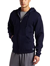 Russell Athletic Men's Dri Power Hooded Zip-Front Fleece Sweatshirt