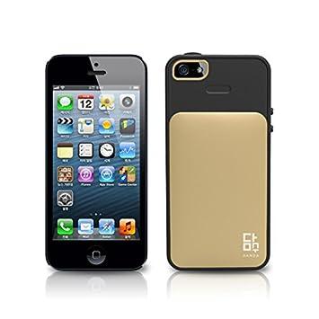 d4611aba13 Amazon | iPhoneSE / 5s / 5 ケース カード収納 VERUS Damda 背面 カード ...