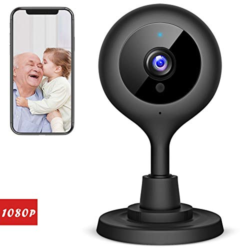 Victure 1080P FHD Baby Monitor with WiFi IP Camera Home Wireless Security Camera with Night Vision Sound/Motion Detection 2-Way Audio Indoor Surveillance Monitor Baby/Elder/Pet