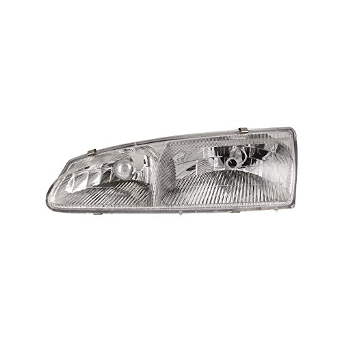 New Mercury Cougar Headlight - Headlights Depot Replacement for Ford Mercury Ford Thunderbird T-Brid/Cougar Headlight Headlamp Driver Side New
