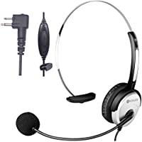 Arama PTT MIC Headphone Headset w/ Adjustable Band for Motorola CP200 Devices GP88 300 CT150 P040 PRO1150 SP10 XTN500 Radios