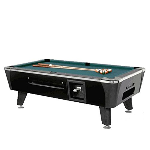 Valley-Dynamo Dynamo Black Sedona Coin Operated 6 1/2' Pool Table