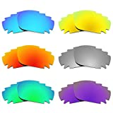 Revant Vented Replacement Lenses for Oakley Jawbone 6 Pair Combo Pack K027