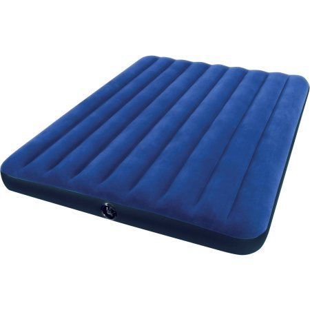 Intex Queen 8.75'' Classic Downy Inflatable Airbed Mattress