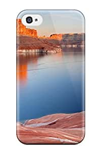 Durable Defender Case For Iphone 4/4s PC Cover(padre Bay Lake Powell Utah) WANGJING JINDA