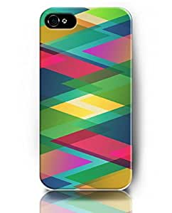 Case for iPhone 5S 5 , UKASE Protective Snap on Case Skin with Elegant Design of Colorful Picture