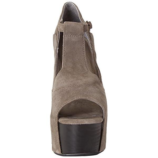 Yin Sandales marron cuir