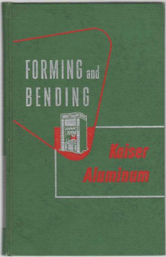 Forming & Bending Kaiser Aluminum 1ST Edition for sale  Delivered anywhere in USA
