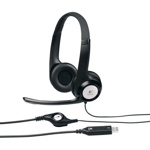Logitech Usb Headset H390 - Stereo - Silver - Usb - Wired...
