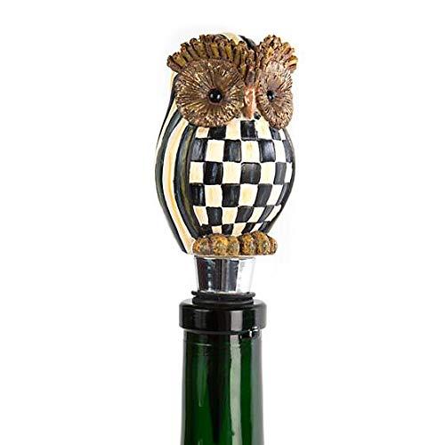 MacKenzie-Childs Hoot Owl Bottle Stopper