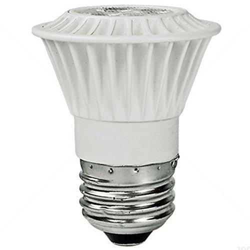 Dimmable LED - 7 Watt - PAR16 - 50W Equal - 40 Deg. Flood - 2400K Warm White - TCP LED7P1624KFL 120 Volt Par16 Medium Base