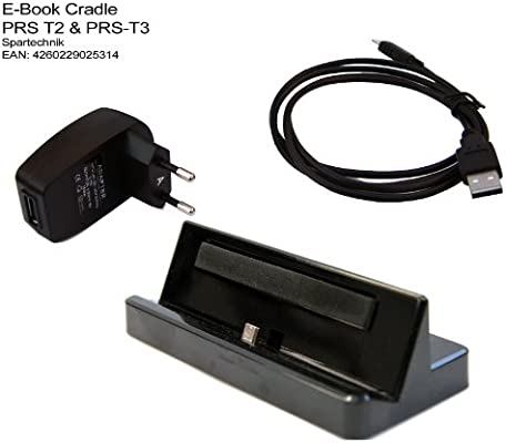 Spartechnik - Base de carga y sincronización para e-reader Sony ...