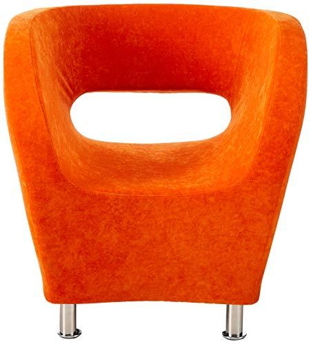 Christopher Knight Home 258647 Salazar Modern Design Accent Chair, Orange - 2