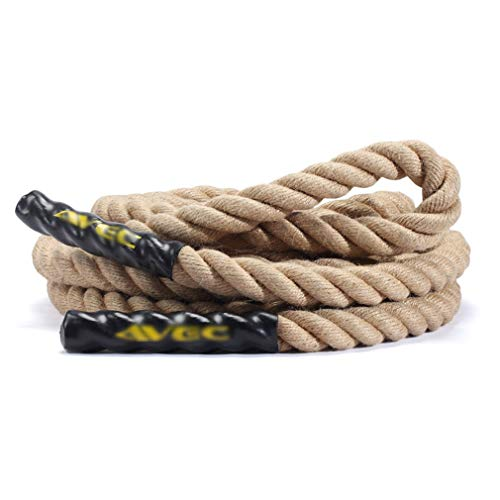 Battle Rope Diameter 38 mm UFC Fitness Training Rope Strength Training Physical Training Full Body Fitness 9M / 12M / 15M (Size : 12m) by BAI-Fine (Image #7)