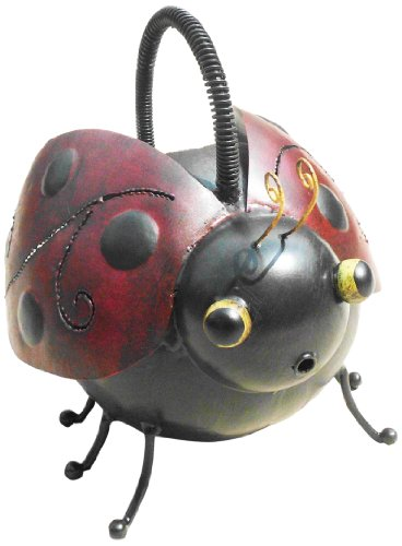 D art collection iron watering can ladybug sporting goods outdoor recreation lawn games lawn darts - Ladybug watering can ...