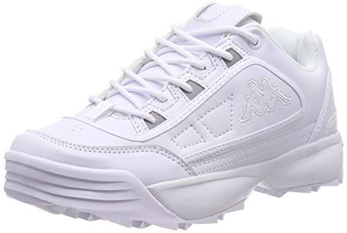 1010 white Kappa Rave Weiß Baskets Femme qUUIXxwS1