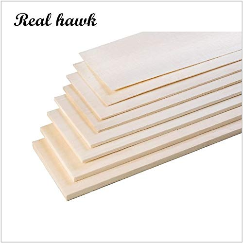 200x100x1.5mm Excellent Model Balsa Wood Sheets for Airplane Boat Military Models Model DIY   20pcs
