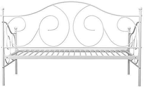 home, kitchen, furniture, bedroom furniture, beds, frames, bases,  beds 3 image DHP Victoria Daybed, Twin Size Metal Frame, Multi deals