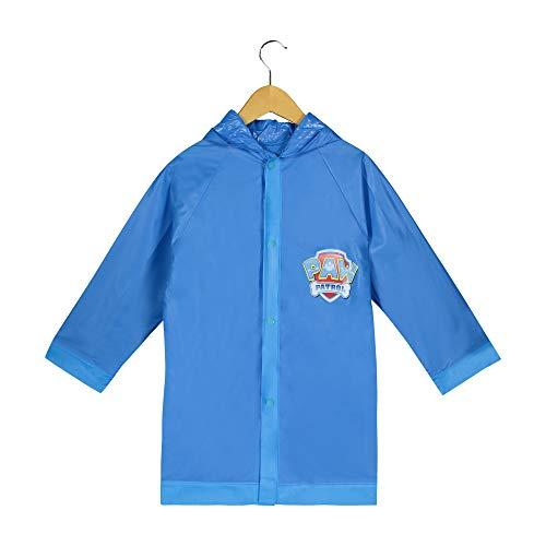 Paw Patrol Boys Blue Rain Slicker - Toddler Size 6-7 Large