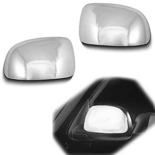 Upper Top Cover - AutoModZone Chrome ABS Side View Mirror Upper Top Half Mirror Cover for 99-06 Chevy Silverado / 00-06 Suburban Tahoe / 02-06 Avalanche / 99-06 GMC Sierra / 00-06 GMC Yukon / 02-06 Cadillac Escalade