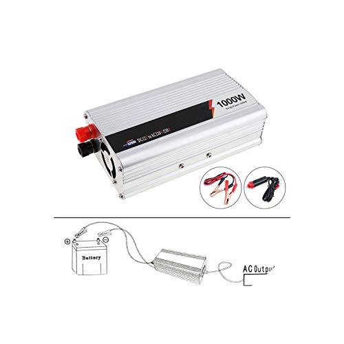 1000W Car Inverter DC 12V 24V to AC 220V 110V USB Auto Power Adapter,Voltage 24V -110V