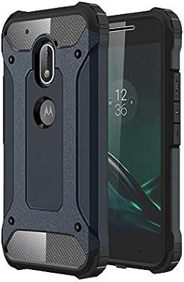 Lenovo Moto G4 Play móvil, Moon Mini® Trade-Shop Hybrid Combo ...