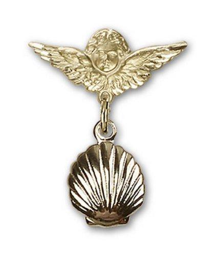 Icecarats Or Bijoux De Créateurs Enveloppe Remplie De Charme Ange Pin Badge 7/8 X 3/4