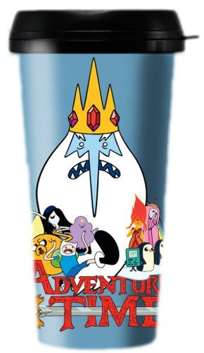 Cartoon Network Adventure Time Movie Travel Mug by Adventure Time