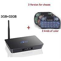X92 3GB 32GB Android 7.1 Smart TV Box Amlogic S912 Octa Core 5G WiFi 4K BT4.0 H.265 IPTV Set top Box with Mini Keyboard