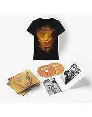 The Rolling Stones CD Duplo + Camiseta Goats Head Soup Preta