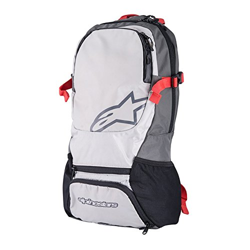 Alpinestars Backpack - Alpinestars Faster Back Pack, One Size, Steel Gray Spicy Orange