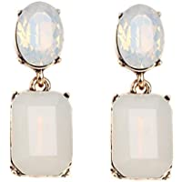 Women Earring,kaifongfu New Earring Pendant Long Rhinestone Crystal Fashion Women Party Dress Earring