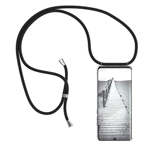 EAZY CASE Handykette kompatibel mit Huawei P30 Pro Handyhülle mit Umhängeband, Handykordel mit Schutzhülle, Silikonhülle…