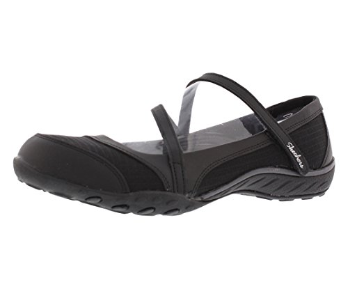 Women's Relaxed Fit Breathe Easy – Marigold Mary Janes Black-BLK 7.5