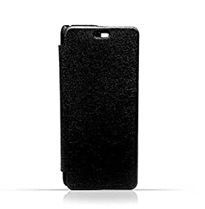 Iphone 7 Plus Black Frosted PU Leather Flip Cover