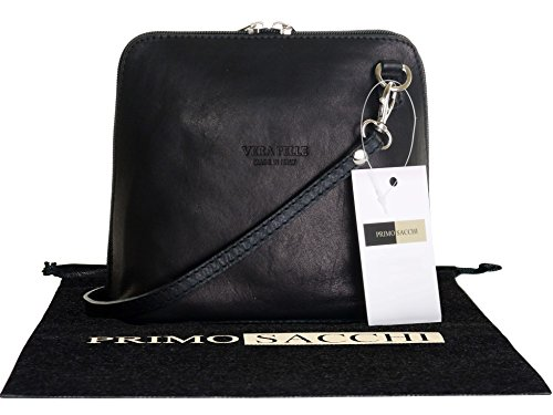 Black Soft Italian Leather - 6