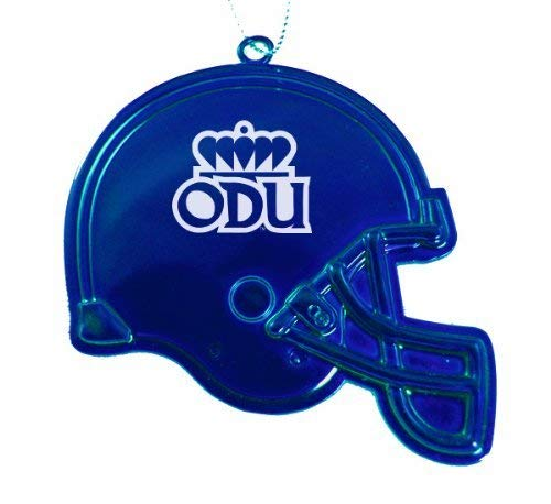 Old Dominion University – Chirstmas HolidayフットボールヘルメットOrnament – ブルー