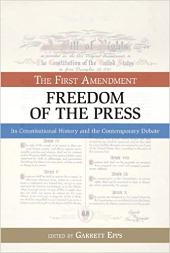 Freedom of the Press...Please help?