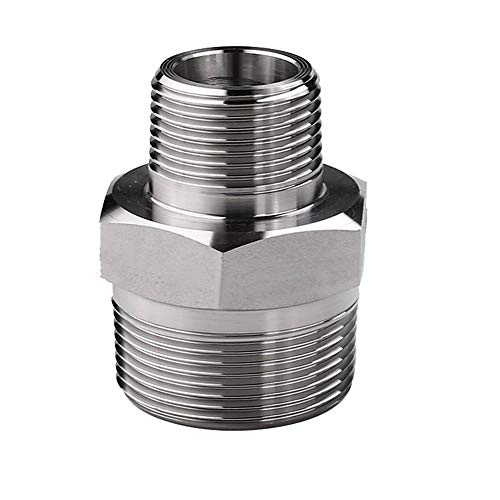 1//8 NPT to 4AN Male 45 Degree Union Fitting Black Aluminum Pair 2