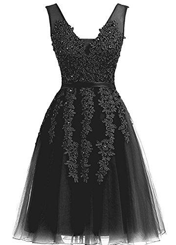 para Vestido negro Vickyben Vickyben para para Vestido negro mujer Vickyben Vestido mujer TxHOXqEW